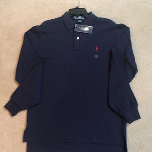 Men's size medium Ralph Lauren Polo long sleeves